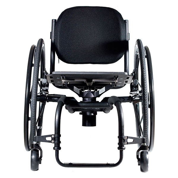 Icon wheelchair front view