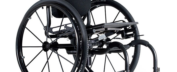 Icon wheelchair 45 degree