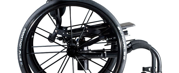 Icon wheelchair side