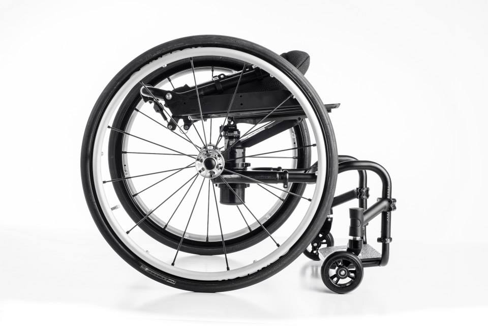 Icon wheelchair side view